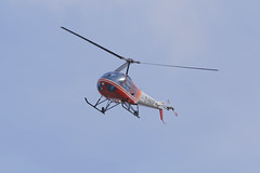 D-HAAR  Enstrom F-28F fly to Airbus Workshop (Greby-Johann) Tags: dhaar niemann maschinenfabrik enstrom f28f calden kassel airbus airport flughafen ksf überflug werkstatt bunt hubschrauber heli helicopter fly workshop dl 280c shark