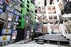 CBC TVs (enedkl) Tags: skylight lobby cbc toronto ontario canon 60d 10qqca tv blogto
