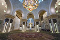 Abu Dhabi - interni Sheikh Zayed grand mosque (filippo.bassato) Tags: abudhabi uae emiratiarabiuniti grandmosque sheikhzayed filippobassato arabi islam fede religione