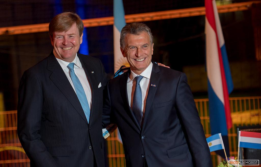 Staatsbezoek President Argentienié