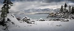Sand Harbor In Winter (Aaronmh01) Tags: laketahoe clouds winterstorm snow sandharbor gettingupearly northernnv highdesert tahoenationalforest sonya6000