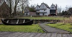 The medieval craft houses in the 14th century. (Photostreamkatwijk) Tags: 2017archeon middeleeuwen huizen 14eeeuw house geschiedenis history buitenfotografie alphen nederland