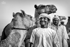 Smile (Shyjith Kannur Photography) Tags: sharjah malehadesert camel camelherders desertlife blackwhite canon