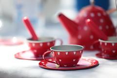 Dinette (Régis (R208)) Tags: colors dinette tea thé bokeh red