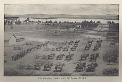 "1917 Folder - ""A"" Battery R.C.H.A. on Parade at Petawawa Camp, Ontario (photo #9 from folder #2) (Baseball Autographs Football Coins) Tags: petawawawarcamp postcard folder camppetawawa petawawacamp wwi worldwar1 petawawa ontario canada thecollegebookstore 16photographicviews rcha parade ottawariver abattery"