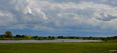 Landscape on river the Ijssel On - Explore (JaapCom) Tags: jaapcom clouds ijssel water revier natural landscape holland dutchnetherlands cloudscape