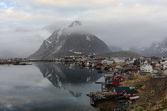 Reine (Andrew G Robertson) Tags: lofoten islands norway reine hamnoy canon 5d mkiv arctic reflection village fishing norge