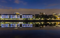 Copthorne Hotel Newcastle Quayside UK (stblackburn) Tags: quayside tyne copthorne hotel blue hour river night canon newcastle northeast