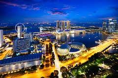Singapore city skyline (Patrick Foto ;)) Tags: architecture asia asian bay blue building buildings business center city cityscape commercial district downtown dusk evening famous finance financial flyer hotel illuminated landmark landscape light marina metropolis modern museum night office panorama place reflection river scene sea show singapore sky skyline skyscraper tourism tower travel twilight urban view water waterfront sg