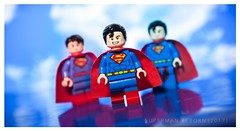 [DC] The Man of Tomorrow (| Jonathan |) Tags: mroz mrmyxyptlk supermanreborn superman dcrebirth dccomics actioncomics tomorrow steel of man superheroes comics red energy blue lego