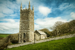 Morwenstow Church (adiej62) Tags: morwenstow churches architecture building sky clouds nationaltrust southwestcoastpath cornwall uk green blue landscape countryside