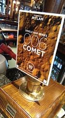 006 comet (96/365) (werewegian) Tags: wylam 006 comet beer pumpclip glasgow state bar werewegian apr17 365the2017edition 3652017 day96 6apr17