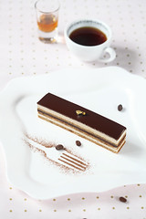 Opera Cake (Мiuda) Tags: almond background baking biscuit brown buttercream cake chocolate classic closeup coffee confectionery cuisine dark decoration delicious dessert entremet filling food french ganache gateau glaze golden gourmet horizontal joconde layered lenotre luxury macro mirror multi multilayer opera operacake paris pastry patisserie patissier perfect professional sponge square sweet topping traditional transparent whole canon foodphotography foodphoto blogger foodblogger
