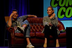 Buffy characters (James O'Hanlon) Tags: wales 2017 comic con wrexham opie ryan hurst game thrones mick foley lita amy dumas john rhys davies buffy event photos pictures