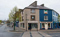 Thomas Moran. Bridge Street, Westport (Steph Breton) Tags: westport irlande ireland mayo buildings westofireland connaught