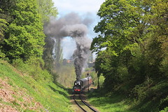 Steam loco Taw Valley on the Severn Valley Railway (Keith Wilko) Tags: svr severnvalleyrailway shropshire steamtrain steamtrains railway railways steamrailways steamengines tawvalley 34027 loco34027 34027loco 34027tawvalley tawvalley34027 bridgnorth