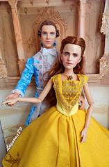 Belle & Prince Dan (Lagoona89) Tags: disney beauty beast belle prince emma watson dan stevens film collection hasbro