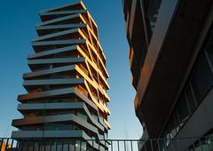 Tule Towers (fredrik.gattan) Tags: urban city cityscape building architcture modern sundbyberg stockholm solna sweden tule torn tuletorn sunset