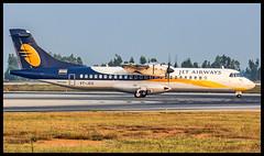 Jet Airways ATR72 VT-JCU Bangalore (BLR/VOBL) (Aiel) Tags: jetairways atr atr72 vtjcu bangalore bengaluru canon60d tamron70300vc