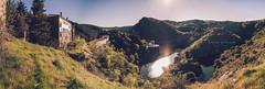 Duero (Batide Machado) Tags: duero río castillayleón zamora saltodecastro salto embalse river landscape sun sunset abandono abandoned sky green spring españa edificio