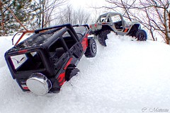 170405-05 Toy Jeep (clamato39) Tags: macro jeep toys jouets auto neige snow hiver winter