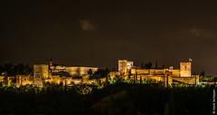 Alhambra at night - Granada (ES) (Henk Verheyen) Tags: alhambra andalusië es granada spain spanje avond night andalucía