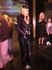 Lady Gaga figure at Madame Tussauds London (Lukas Rauscher) Tags: 2016 2017 london uk unitedkingdom madametussauds madametussaudslondon wax waxfigure wachsfigur ladygaga joanne telephone lady gaga music singer crazy costume hair bad romance bornthisway newyork millionreasons superbowl justdance pokerface