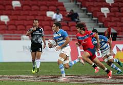 HSBC Singapore Sevens (Unión Argentina de Rugby) Tags: day2singaporesevenshsbcdhlsportrugbymartinseraslimasi singapore day 2 sevens hsbc dhl sport rugby martin seras lima sports hub national stadium world series