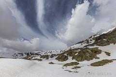 Estanys de La Vall del Riu, Principat d'Andorra (kike.matas) Tags: canon canoneos6d canonef1635f28liiusm kikematas lavalldelriu canillo andorra andorre principatdandorra pirineos paisaje nature nieve nubes montañas lago hielo lightroom4 андорра senderismo