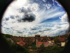Timişoara 18.04.2017  #photography #photo #picoftheday #photooftheday #instapic #instadaily #instalike #justgoshoot #exploretocreate #cool #awesome #GalaxyNote3 #timisoara #romania #fisheye #clouds #hdr #phoneography (Ewald Photography) Tags: instagramapp square squareformat iphoneography uploaded:by=instagram lofi