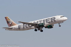 Frontier Airlines Airbus 320 -Yukon the Caribou- N201FR (rob-the-org) Tags: exif:focallength=312mm exif:aperture=ƒ13 camera:make=canon exif:isospeed=100 camera:model=canoneos60d exif:model=canoneos60d exif:lens=ef100400mmf4556lisiiusm exif:make=canon kphx phx skyharborinternational phoenixaz frontierairlines airbus a320 yukonthecaribou n201fr departure f13 312mm 1160sec iso100 cropped noflash topapril2017
