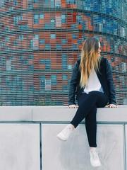 Barcelona (albatomeo) Tags: torreagbar barcelona blonde