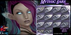 Gauze&Trap-MythicEarsAd (Yukio_Ida) Tags: selos dae second life sl gauze mythic ears elf fantasy fashion overlays glow tint modifyable mod drow demon mythological creature