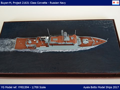 Buyan-M, Project 21631 Class Corvette, Russian Navy Buyan-M, Project 21631 Class Corvette, Russian Navy проект 21631 буян-м (AyalaBotto Model Ships) Tags: modelwarships scale warship scalemodelships ayalabotto modelismo modelismonaval modélismenaval echelle 1700 maquettes navires naval kits maquetas navales guerre guerra war bateaux modeles combat batiment ship navi model modell class classe type klasse corveta corvette corvetta corbeta korvettenklasse korvette korvetklasse stealth ygmodel resin project 21631 russia russiannavy russische russie пр21631 российский корвет стерегущий проект21631 буянм
