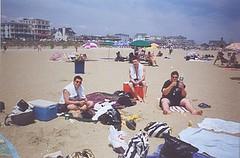 Bridge at the Beach 2000-7 (bridgeyouth) Tags: bridgeyouth beach sand water shore