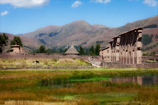 Inca Ruins of Raqchi