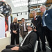 Virtual Reality am DLR-Stand