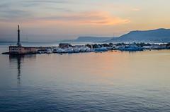 Port of Messina (Neil Cornwall) Tags: 2016 celebritycruises europe italy mediteraneancruise messina october sicily silhoetteship