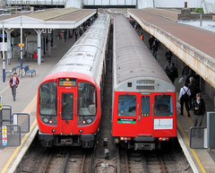 D Stock at Upminster (bowroaduk) Tags: tube londontransport londonunderground