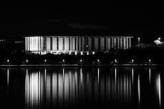 The National Library Reflections (andrewdavis15) Tags: nationallibrary capitols reflections blackandwhite lakes federalcapitals lakeburleygriffin act library canberra