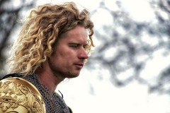 The Knight (Andy J Newman) Tags: candid portrtait knight sudelely castle joust nikon d500 man blonde curly hair