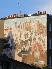 UK - London - Stepney Green - Mile End mural (JulesFoto) Tags: uk england london clog centrallondonoutdoorgroup stepneygreen eastend mural mileend