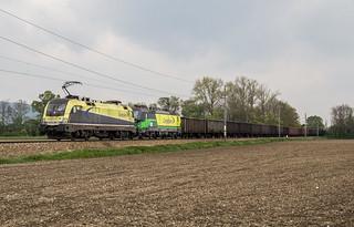 182 580 und 193 267 bei Herzogenburg (29.4.2017)