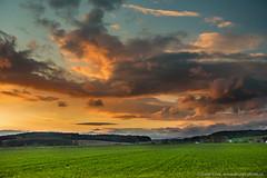 Landscape (Design-photo.cz) Tags: landscape sky spring sunset sun season green grass