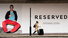 Reserved - Opening Soon (stevedexteruk) Tags: reserved bhs britishhomestores woman suitcase 2017 marylebone london uk city westminster fashion billboard advertising