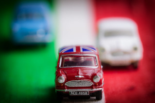 Just remember this - in this country they drive on the wrong side of the road ( The Italian Job).