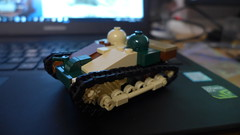 Renault UE (2017 update) (Rebla) Tags: lego rebla renaultue ww2 wwii world war ii 2 france