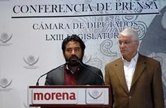 Conferencia De Prensa Dip. Virgilio Dante Caballero Pedraza (MORENA) 25 de Abril del 2017 (CamaradeDiputados) Tags: conferencia de prensa dip virgilio dante caballero pedraza morena 25 abril del 2017