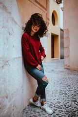 S a m a h (Nacho Borrella) Tags: beautiful beauty canon canon5dmarkii sigma sigma35mmart 35mm art lightroom naturallight portrait portraiture retrato girl brunette arab