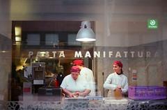 pastas (Kaster-Petsai) Tags: pasta manifattura window 35mm film kodak portra 400 spring budapest